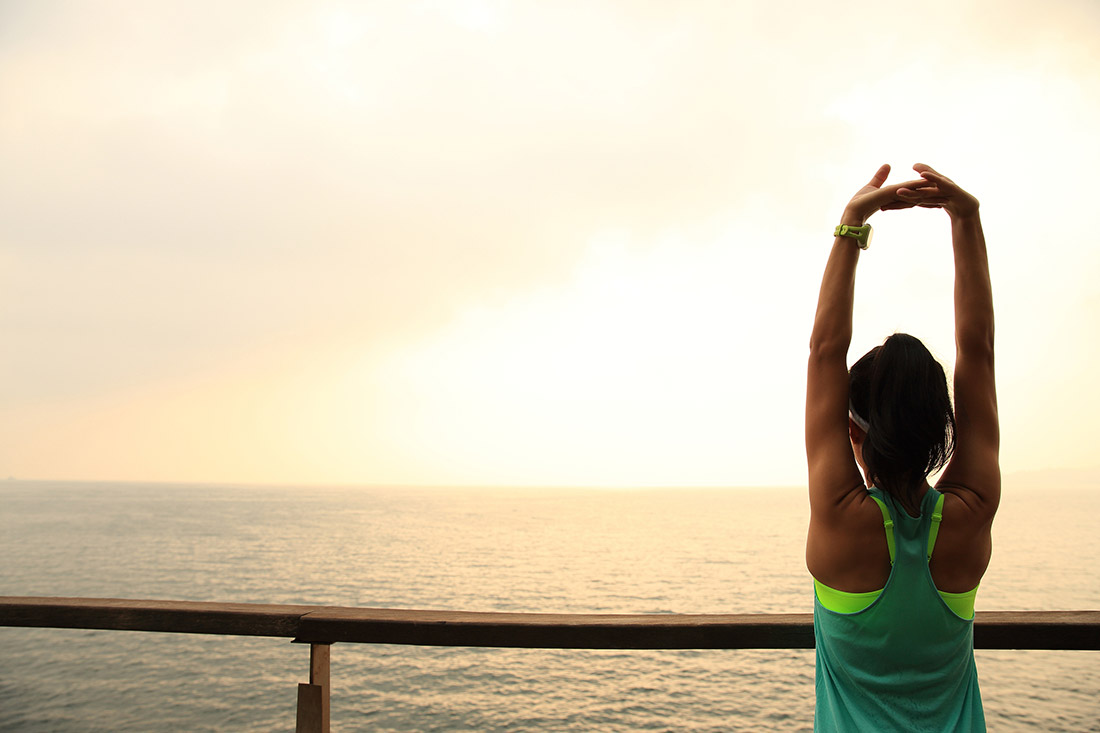 5 Yoga Poses For Your Post-Run Stretch