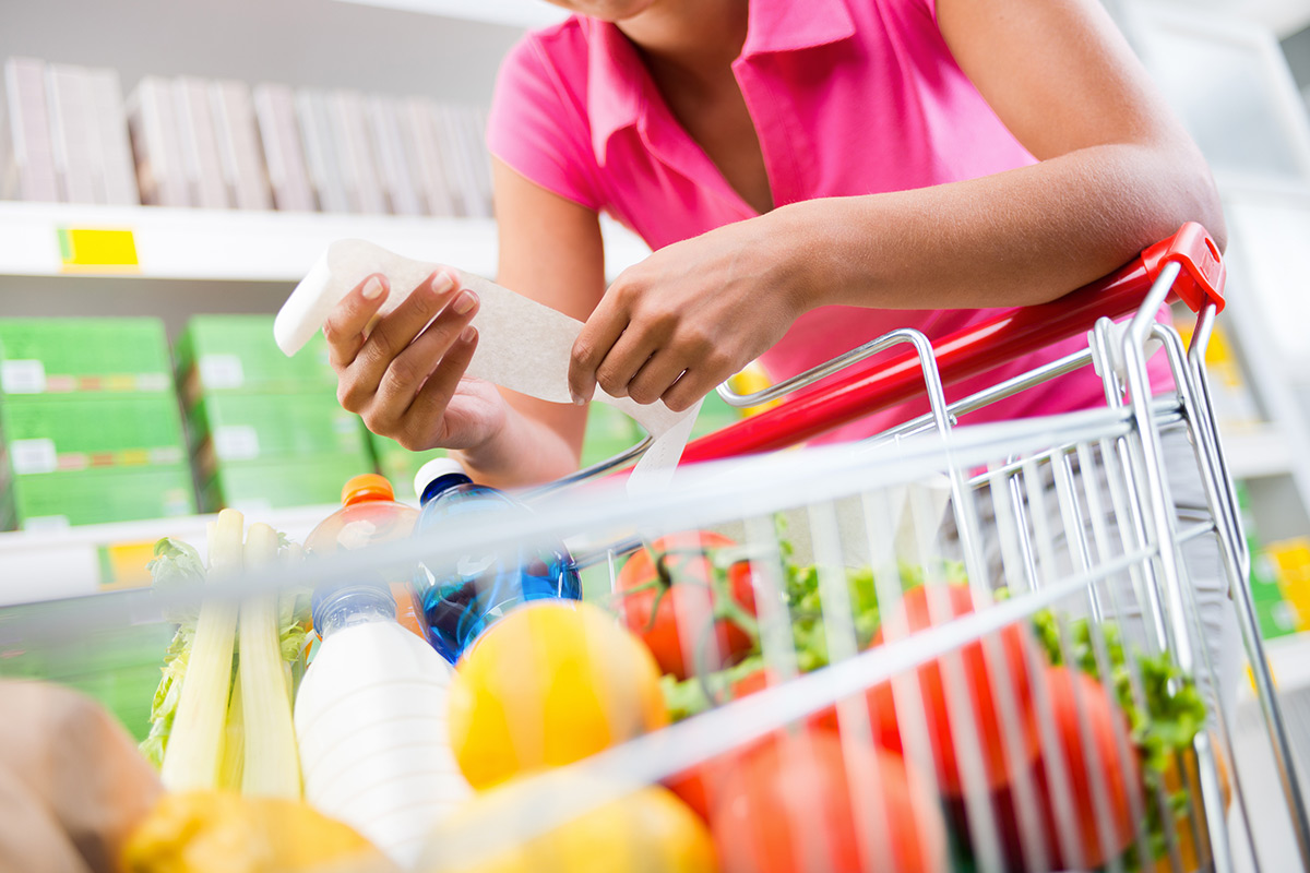 6 Rules For A Healthy Grocery Shopping Cart