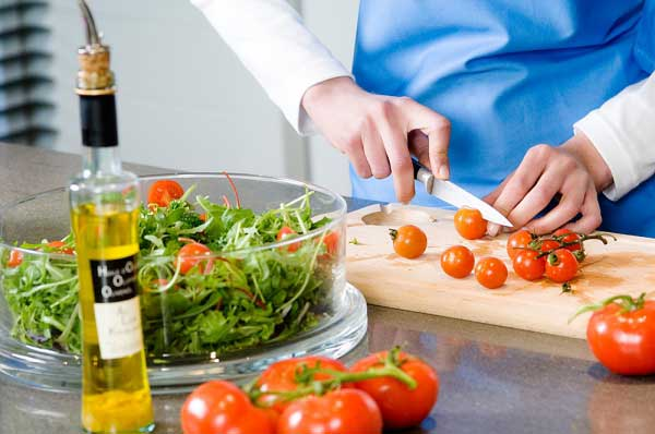 Why is olive oil good for me on salads but bad for me if I cook with it?
