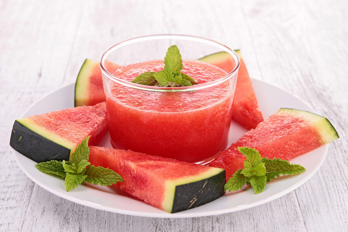 An Easy-Peasy and Refreshing Watermelon Gazpacho