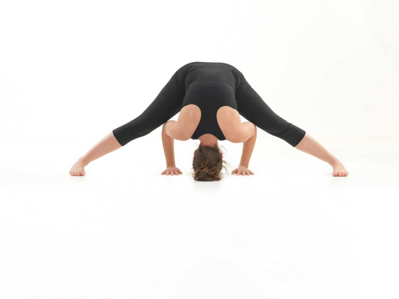 Yoga Pose of the Week: Prasarita Padottanasana A or Wide-legged Forward Bend