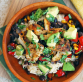 TexMex Fish Burrito Brown Rice Bowl